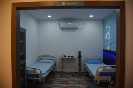 Recovery ward at Allevite clinic