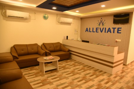 Alleviate Pain Clinic reception
