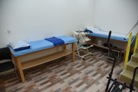 Alleviate - inside clinic